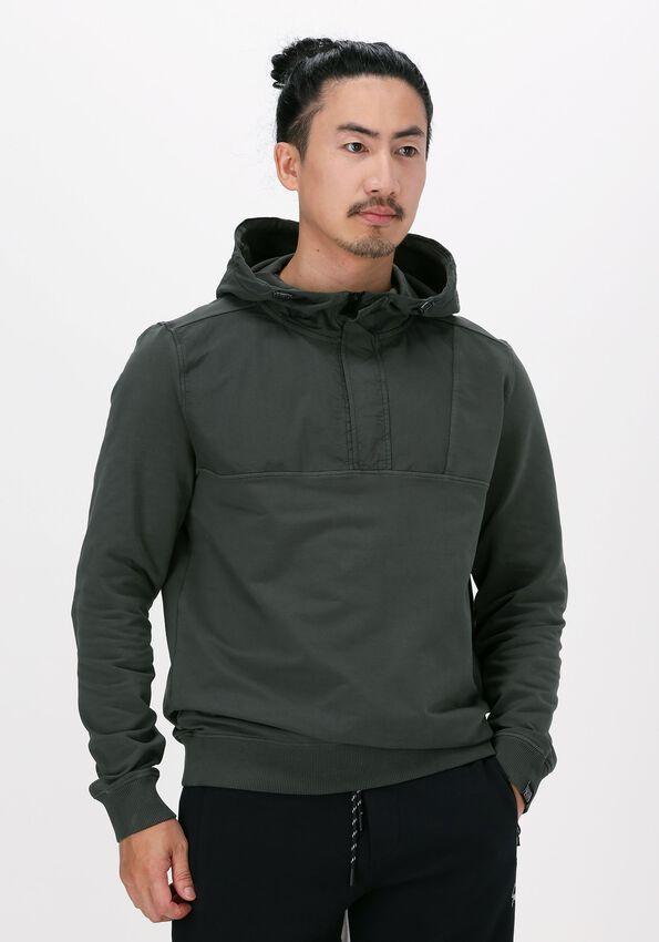 Donkergroene GENTI Sweater J4006-3224 - larger