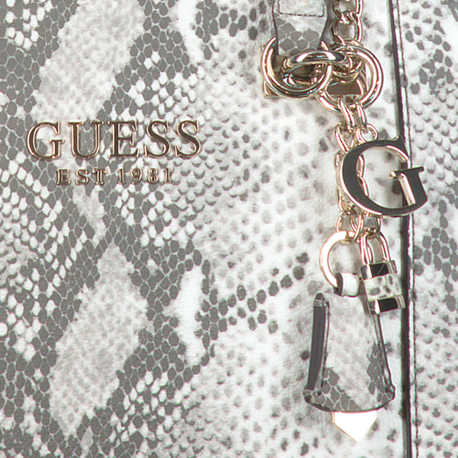 Grijze GUESS Handtas HOLLY CARRY ALL  - large