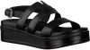 Zwarte SHABBIES Sandalen 170020123  - small
