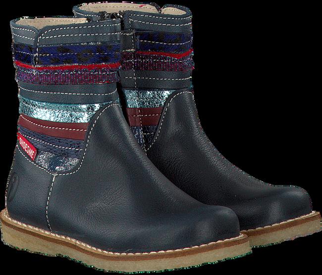Blauwe SHOESME Lange laarzen CR7W101  - large