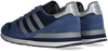 Blauwe ADIDAS Lage sneakers ZX500  - small