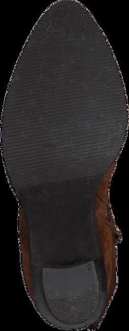 Cognac RED-RAG Overknee laarzen 77132  - large