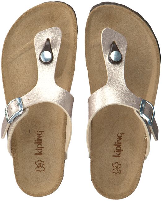 Gouden KIPLING Slippers MARIA 3 GY  - large