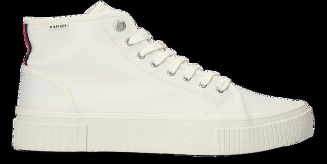 Witte TOMMY HILFIGER Hoge sneaker ELEVATED SEASONAL MIDCUT  - large