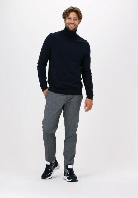 Donkerblauwe SELECTED HOMME Coltrui BERG ROLL NECK - large