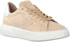 Beige PHILIPPE MODEL Sneakers TEMPLE FEMME  - small