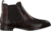 Bruine OMODA Chelsea boots 52B003 - small