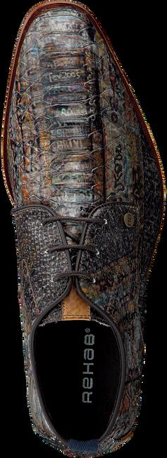 Bruine REHAB Nette schoenen GREG SNAKE FANTASY - large