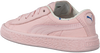 Roze PUMA Sneakers TINY COTTONS LEATHER  - small