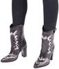 Zwarte BRONX Cowboylaarzen 34106 - small