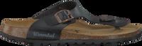 Zwarte WARMBAT Slippers 081503  - medium