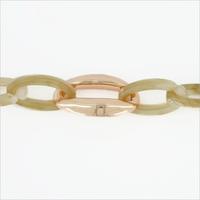 Groene NOTRE-V Armband ARMBAND RESIN  - medium