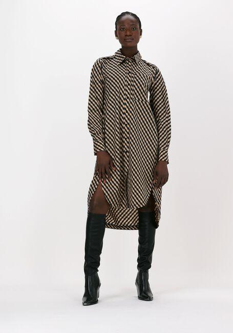 Zwarte LEVETE ROOM Mini jurk KAMMA 4 - large