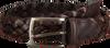 Bruine MAZZELTOV Riem TRECCIA PELLE  - small