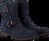 Blauwe CLIC! Biker boots 8383 - small