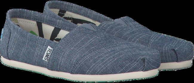 Blauwe TOMS Espadrilles CLASSIC  - large