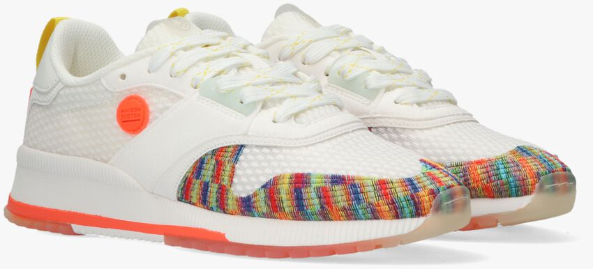 Witte SCOTCH & SODA Lage sneakers VIVI - larger