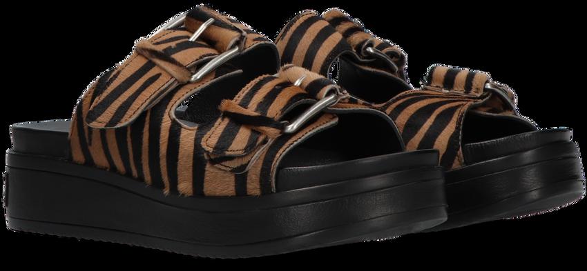 Zwarte SHABBIES Slippers 170020183  - larger