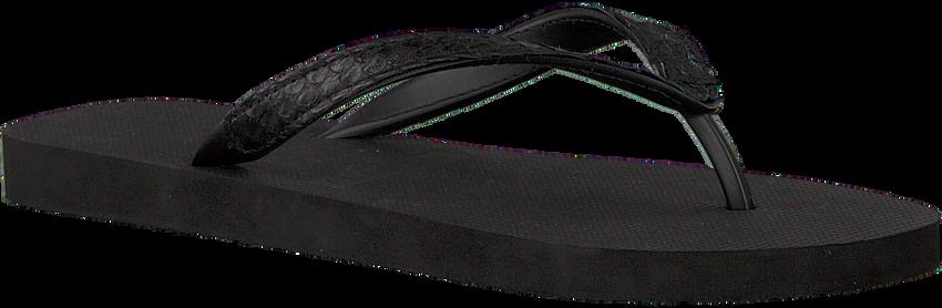 Zwarte UZURII Slippers PYTHON - larger