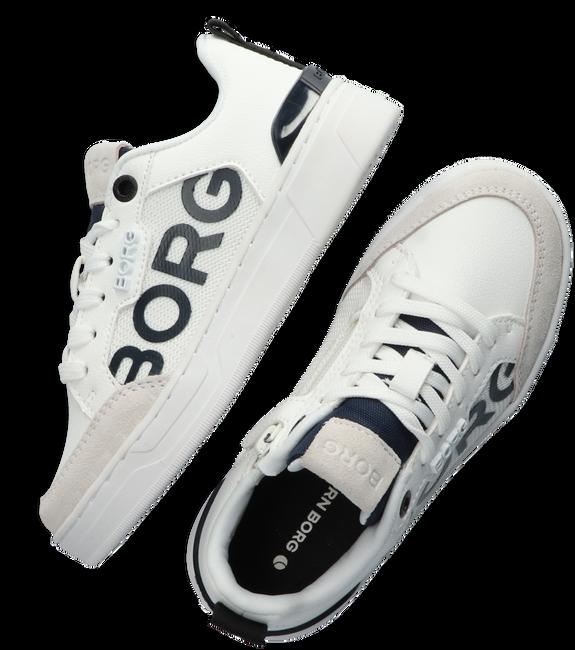 Witte BJORN BORG Lage sneakers T1060 LGO K  - large