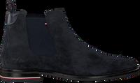 Blauwe TOMMY HILFIGER Chelsea boots SIGNATURE HILFIGER CHELSEA  - medium