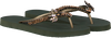 Groene UZURII Slippers GOLD FLY - small