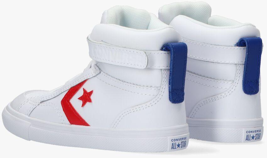 Witte CONVERSE Hoge sneaker PRO BLAZE STRAP VARSITY  - larger