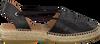 Zwarte KANNA Espadrilles KV4363 - small