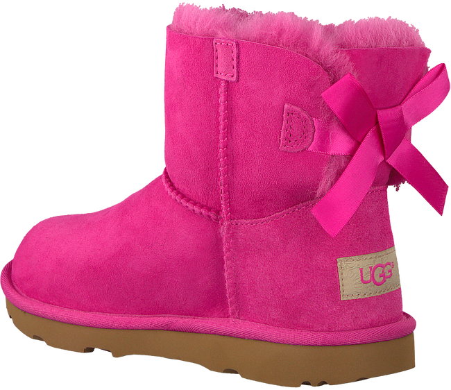 Roze UGG Enkelboots MINI BAILEY BOW II KIDS - large