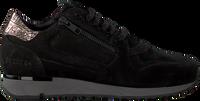 Zwarte RED-RAG Lage sneakers 76814  - medium