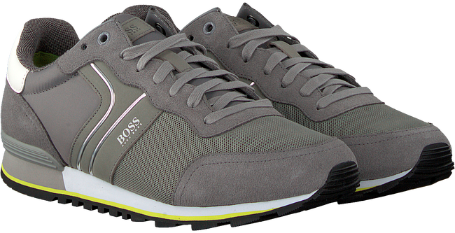 Grijze HUGO Sneakers PARKOUR RUNN NYMX  - large