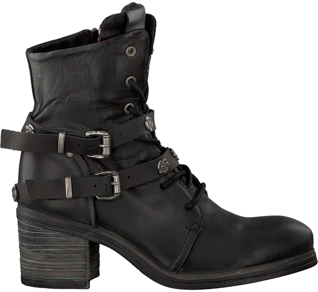 Zwarte REPLAY Veterboots MAINA  - large