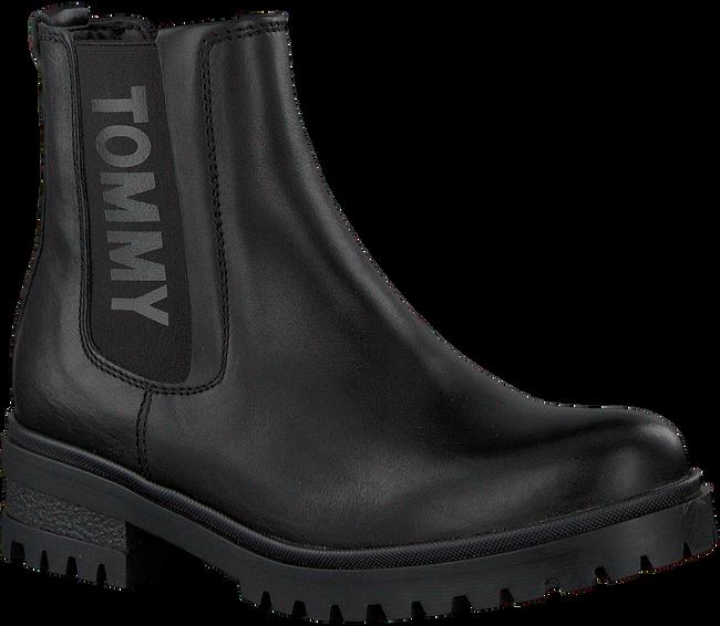 Zwarte TOMMY HILFIGER Chelsea boots EN0EN00242 - large