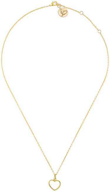 Gouden JEWELLERY BY SOPHIE Ketting HEARTBEAD - large