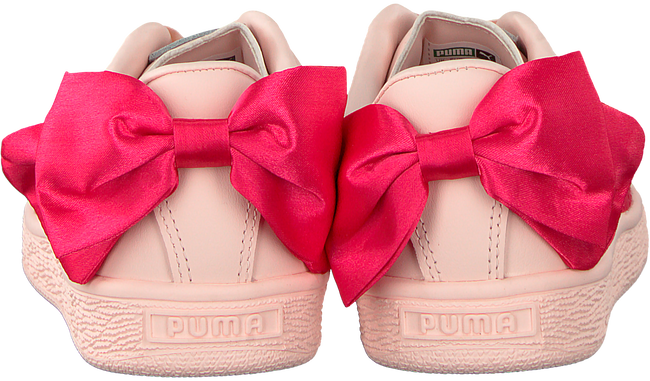 Roze PUMA Sneakers BASKET BOW JR - large