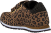 Bruine WODEN Lage sneakers YDUN ANIMAL SUEDE  - small