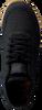 Zwarte WODEN Lage sneakers YDUN CROCO II  - small