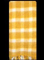 Gele BECKSONDERGAARD Sjaal ISOBELL SCARF  - medium