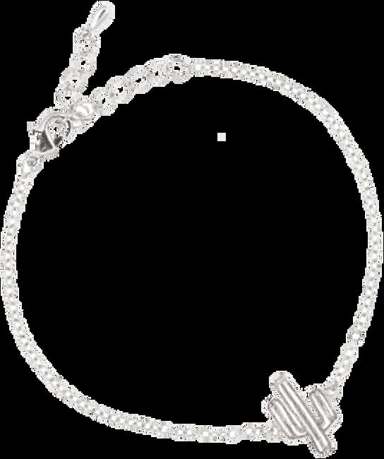 Zilveren ALLTHELUCKINTHEWORLD Armband ELEMENTS BRACELET CACTUS - large