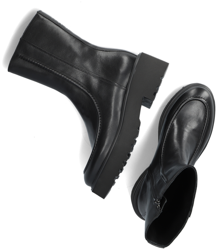 Zwarte VIA VAI Hoge laarzen BOBBI  - larger