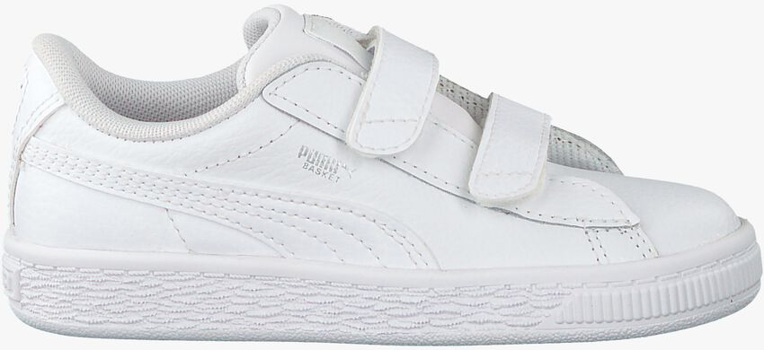 Witte PUMA Sneakers BASKET CLASSIC LFS - larger