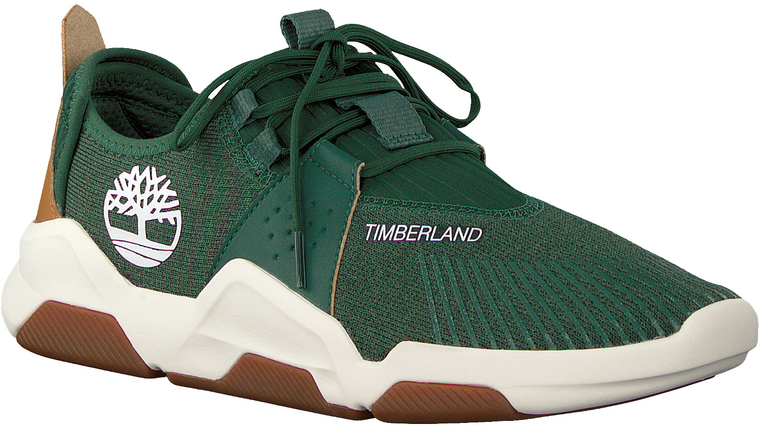 Groene TIMBERLAND Lage sneakers EARTH RALLY FLEXI KNIT OX