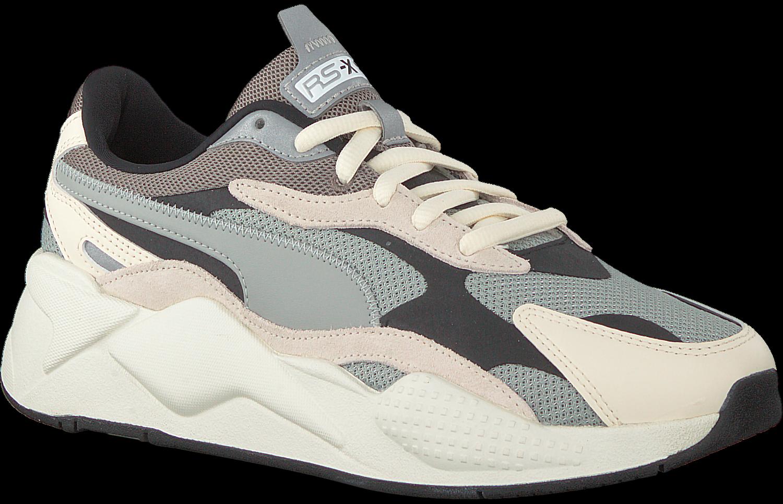 Grijze PUMA Lage sneakers RS-X3 PUZZLE HEREN | Omoda