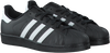 Zwarte ADIDAS Sneakers SUPERSTAR HEREN  - small