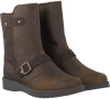 Bruine TIMBERLAND Lange laarzen KIDDERHILL GIRLSMID W/ZIP  - small