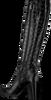 Zwarte NOTRE-V Lange laarzen AH183   - small