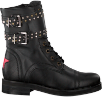 Zwarte DEABUSED Biker boots HOLLY BIKER - medium