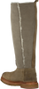 Taupe SHABBIES Lange laarzen 191020006  - small