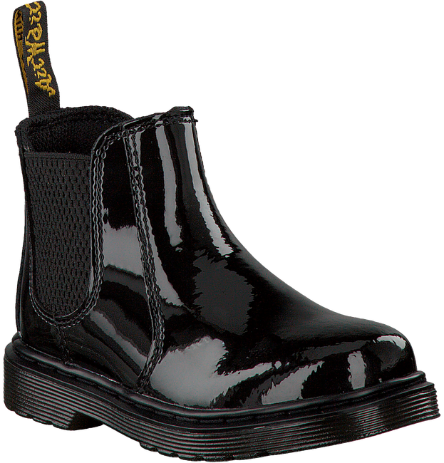 Zwarte DR MARTENS Chelsea boots BANZAI/SHENZI CHELSEA KIDS  - large