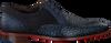 Blauwe FLORIS VAN BOMMEL Nette schoenen 18107  - small